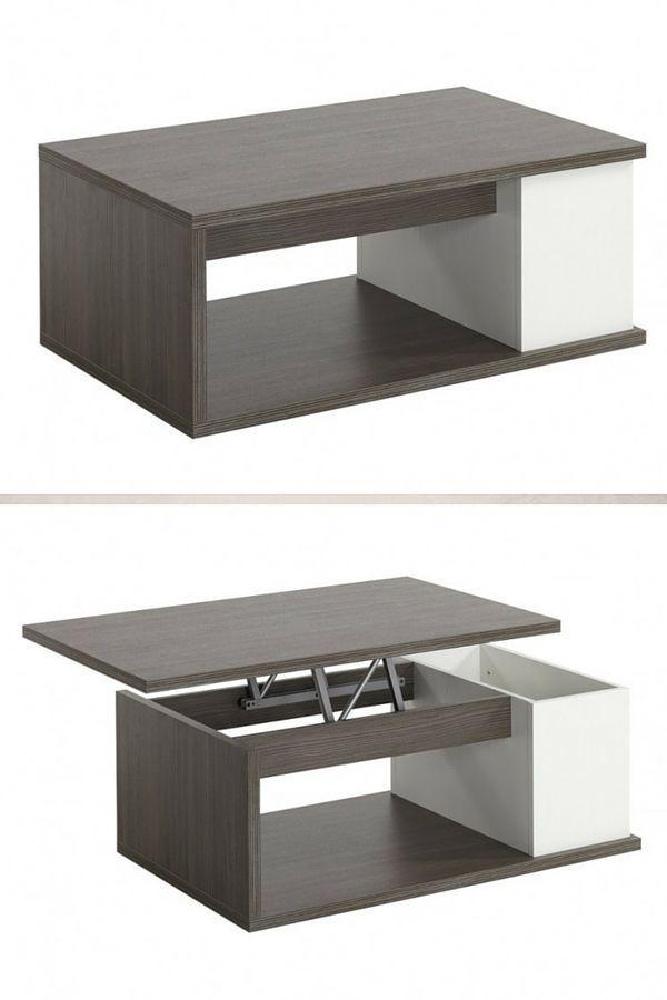 Table Basse Transformable Le TOP Table Basse Transformable - Table de salon transformable en table de salle a manger ikea
