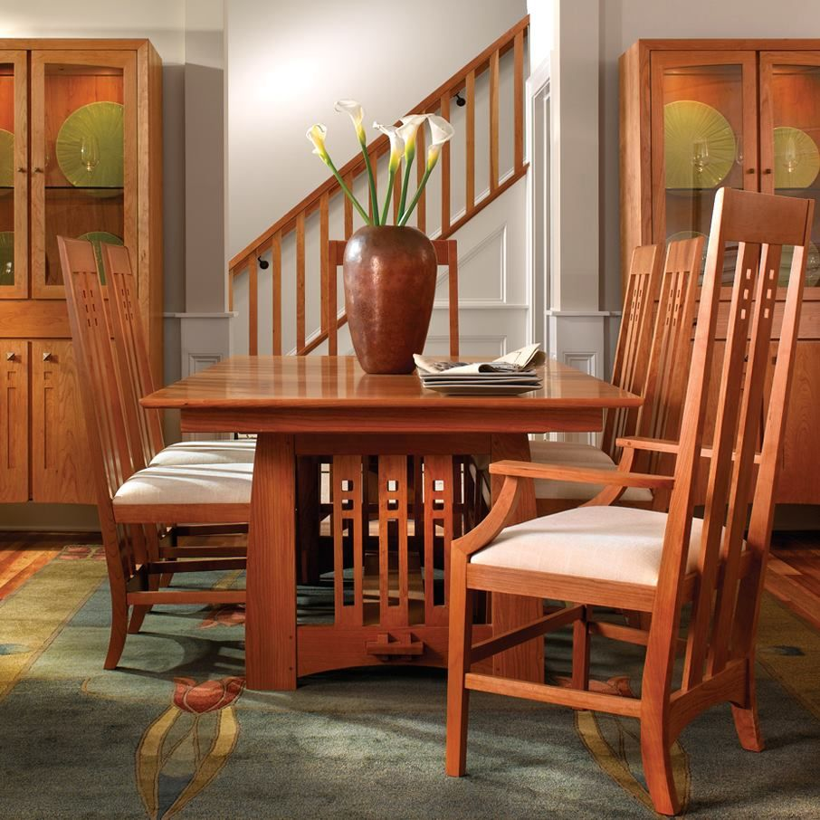 Mission Style Dining Room Tables: Stickley Audi & Co. Dining Room Furniture
