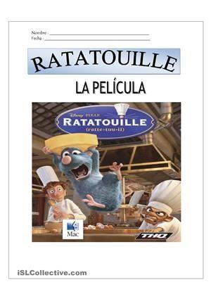 Pelicula Trabajos Hojas De Trabajo De Ele Gratuitas Peliculas En Espanol Pelicula Ratatouille Peliculas