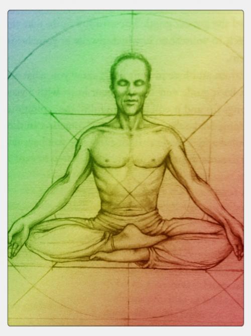 Siddhasana Drawing Siddhasana And Padmasana Yoga Art Study