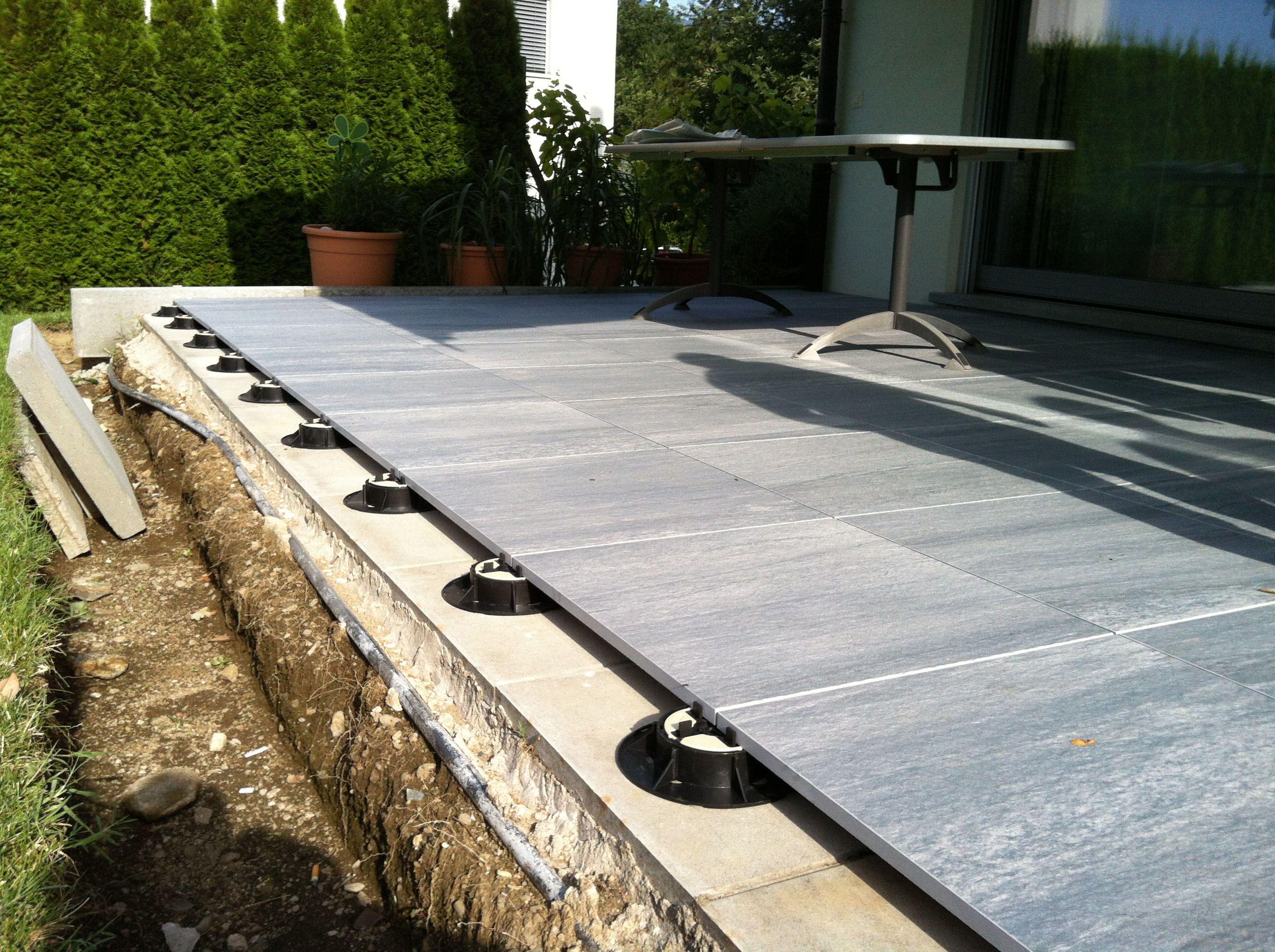 Residential Roof Top Pedestal Decking