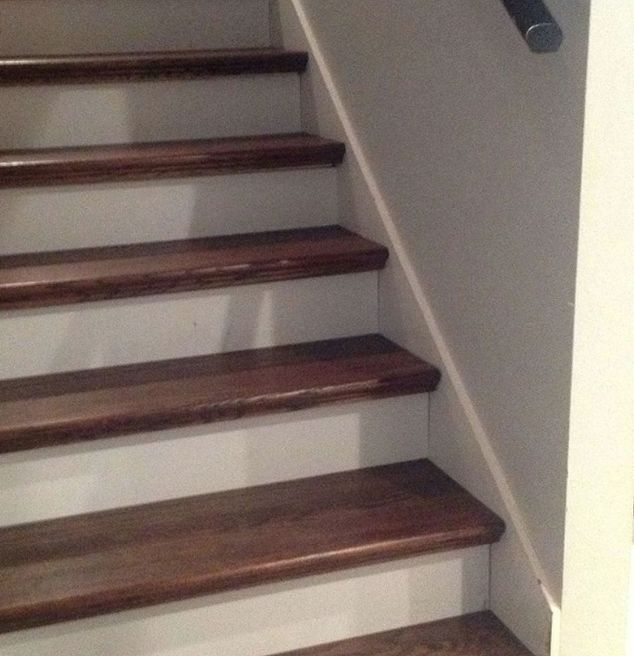 From Carpet To Wood Stairs Redo (Cheater Version) In 2019