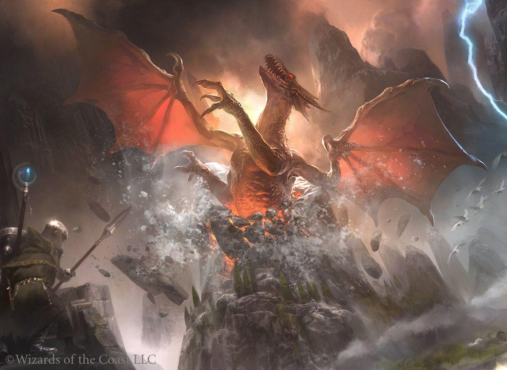 MTG: Furyborn Hellkite by Cryptcrawler on DeviantArt