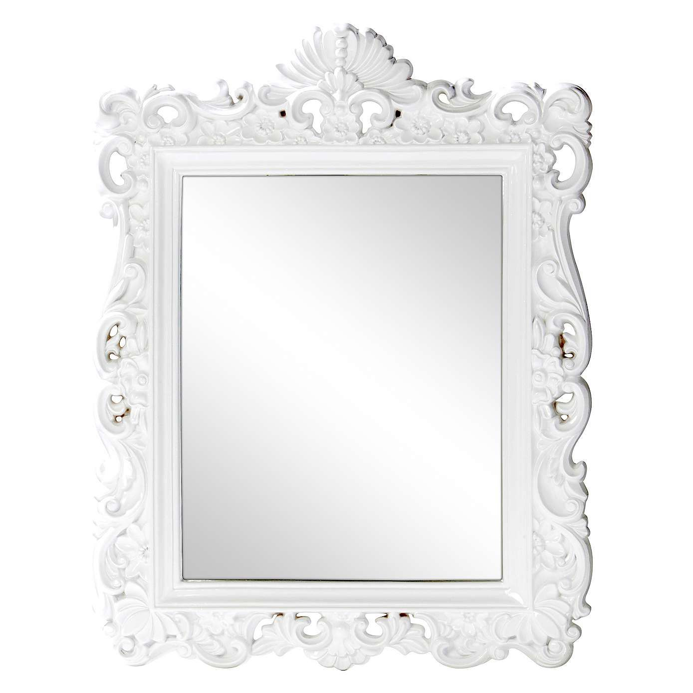 White Ormolu Highlife Mirror