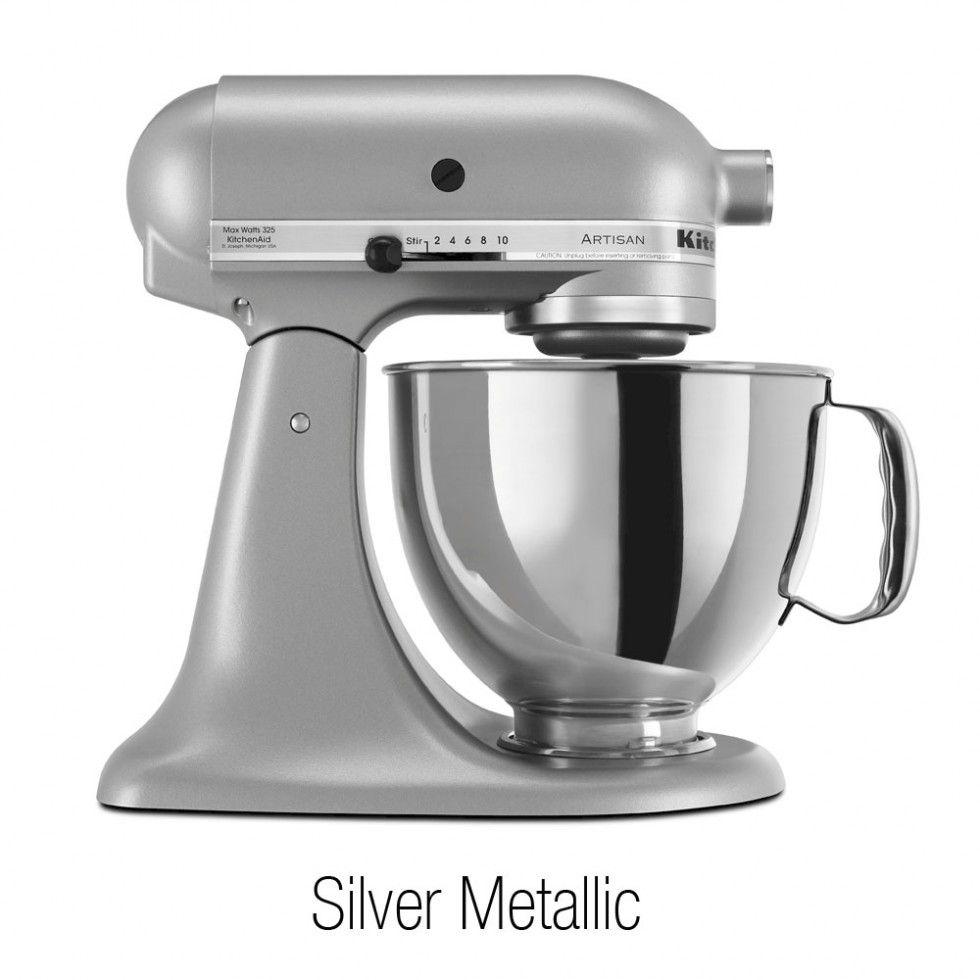 Kitchenaid 5quart artisan tilthead stand mixers