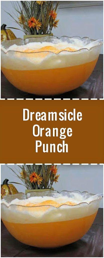 Dreamsicle Orange Punch