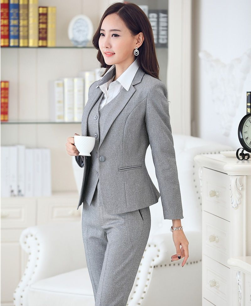 Autumn Winter Business Work Suits