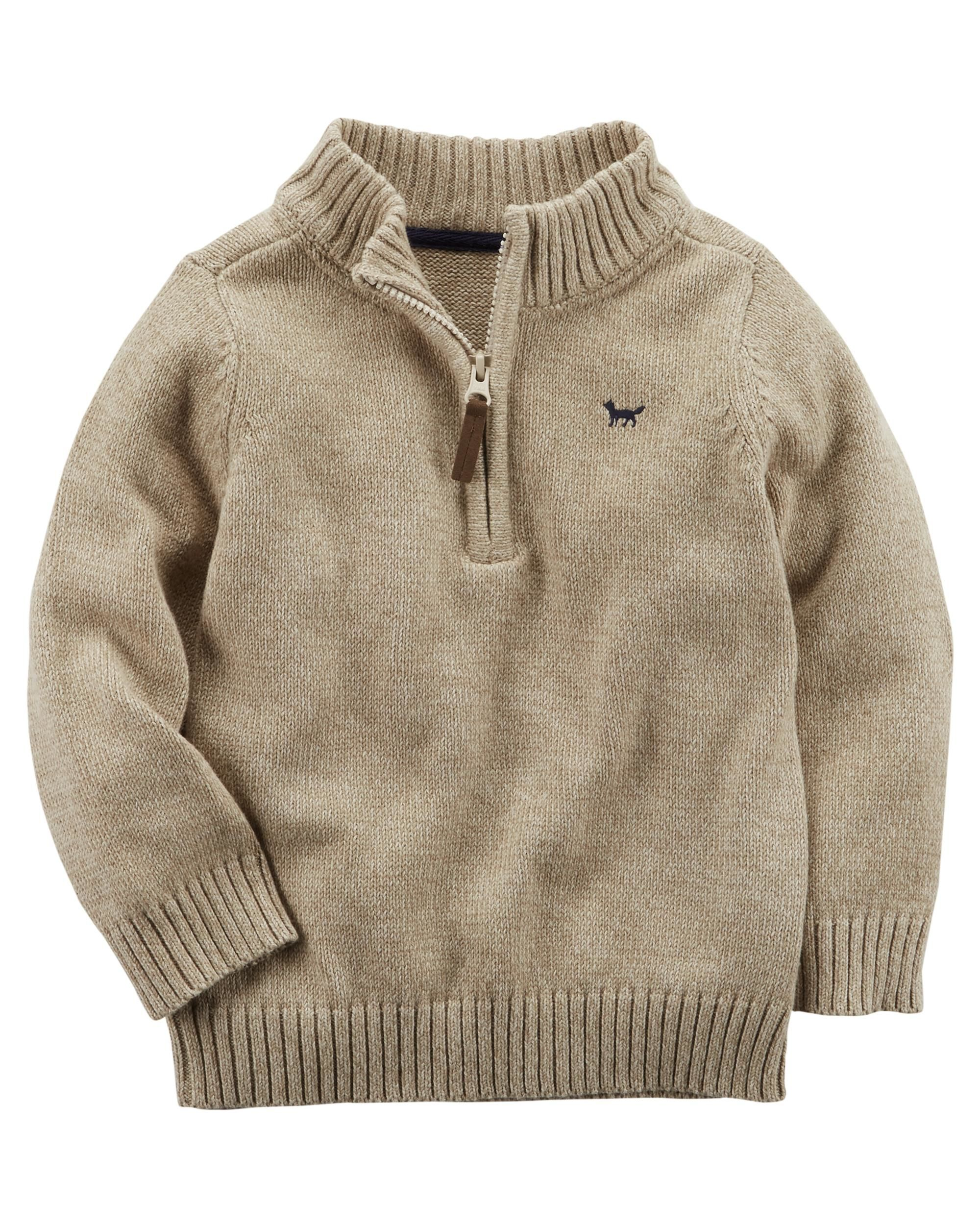 43fa7b5f9 Baby Boy Half-Zip Sweater from Carters.com. Shop clothing & accessories  from a trusted name in kids, toddlers, and baby clothes.