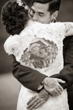 Tattooed married couple!