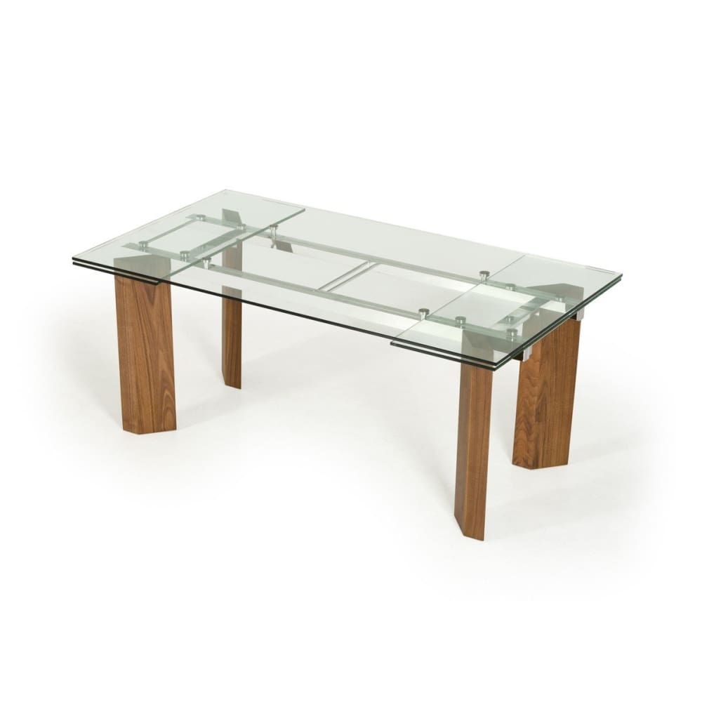 Harvard Extendable Glass Dining Table In 2021 Extendable Glass Dining Table Glass Dining Table Modern Dining Table [ 1000 x 1000 Pixel ]