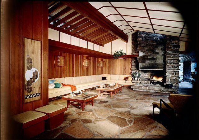 Walton Residence - Bentonville Arkansas - Built: 1958    Architect: E. Fay Jones