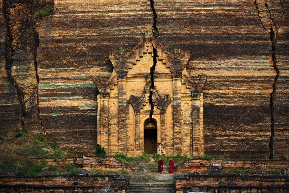 Mingun Pagoda (Myanmar) Photo by Anton Jankovoy — National Geographic Your Shot