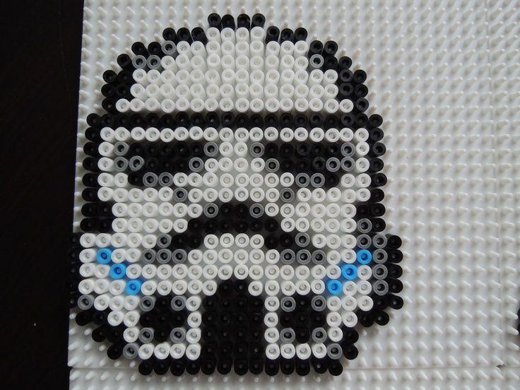 Stormtrooper Star Wars Perler Bead Pattern By Lee Griffiths