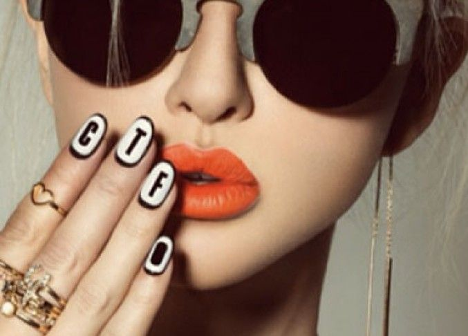 Web want: Elegant Touch x House of Holland Nail Wraps