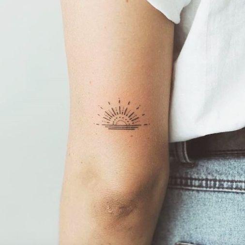 Photo of 36 wunderschöne minimalistische und winzige Tattoos für jedes Mädchen-#jedes …