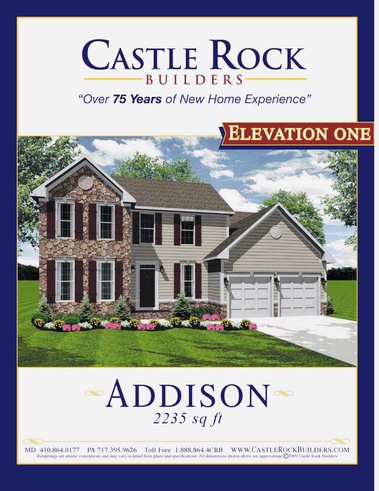 Pin On Castle Rock Builders 35 Models Floor Plans