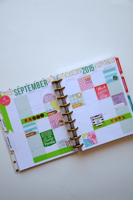 My College Agenda: The Happy Planner - Practically ...