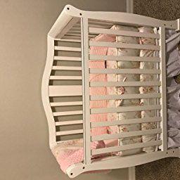 Amazon Com Customer Reviews Dream On Me Addison 4 In 1 Convertible Mini Crib White Mini Crib Dream On Me Cribs