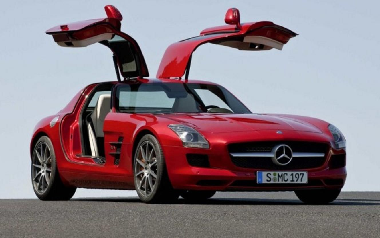 Mercedes is all set to launch its sls amg sports car in