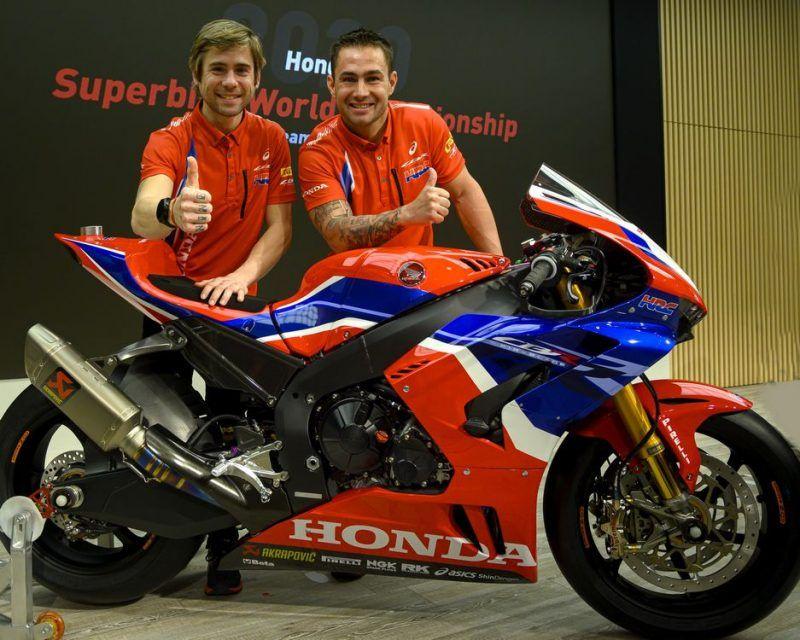World Sbk 2020 Honda Apresenta Sua Nova Cbr1000rr R Fireblade Sp In 2020 Honda Powersports Honda Sbk