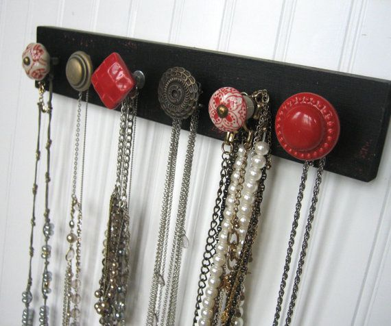 Necklace Holder Wall Mounted Jewelry Organizer