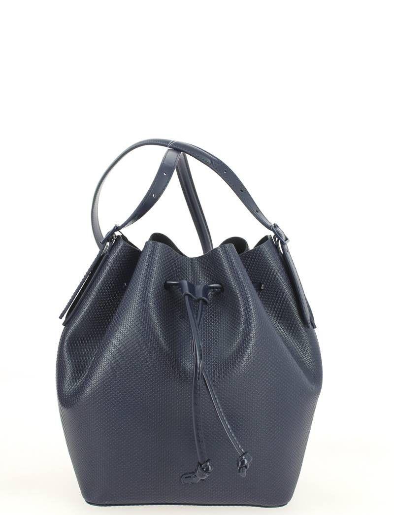 821d034888 Sac seau LACOSTE Chantaco Bucket Bag Bleu | minimal bag | Bags ...