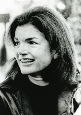 Jacqueline Kennedy Onassis , Dec. 27, 1975--in Sun Valley Idaho ski resort- UPI.com