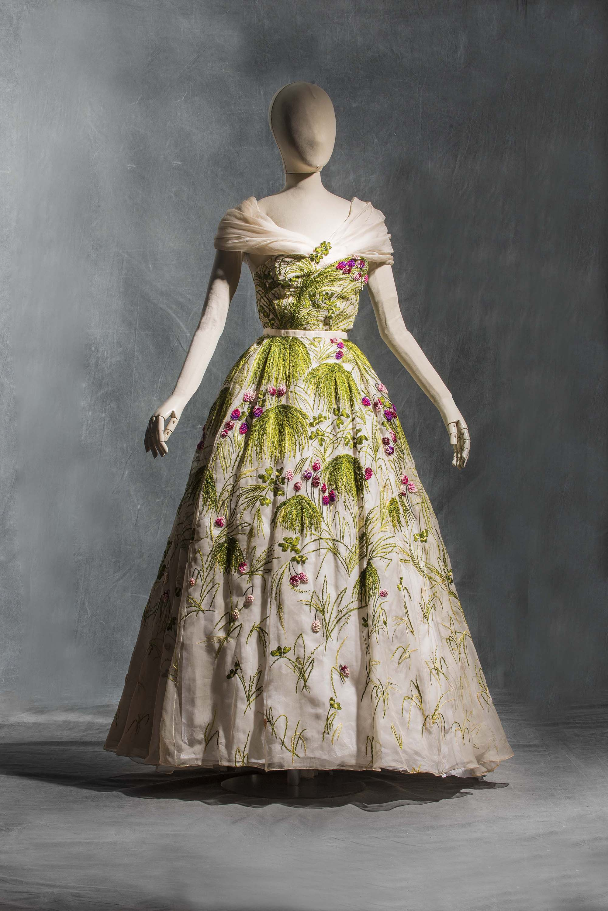 Christian dior robe du soir may haute couture for 50 haute couture