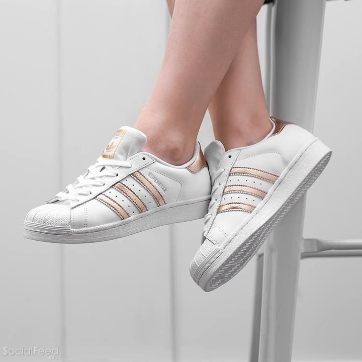 adidas rose gold and grey