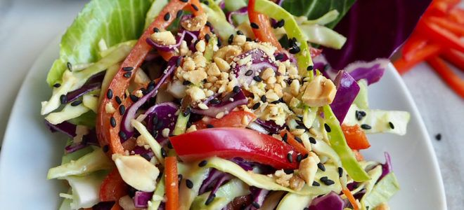 Asian Peanut Coleslaw | Follow Your Heart