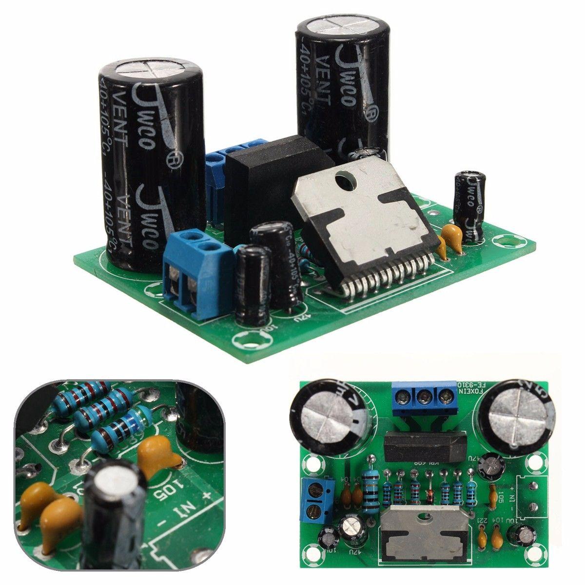 Amplifier For Tda7496sa Electronics T Tda7496 2x5 Watts Stereo Class Ab Audio Circuit Design 12 32v 100w Tda7293 Hifi Mono Board