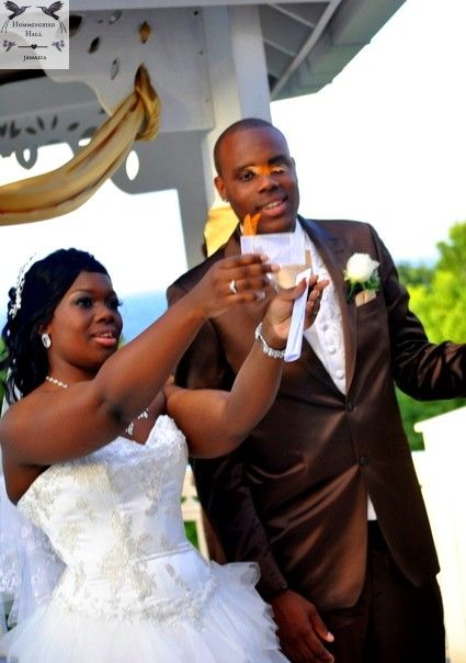 Jamaica Destination Wedding Butterfly Release At All Inclusive Venue Hummingbird Hall