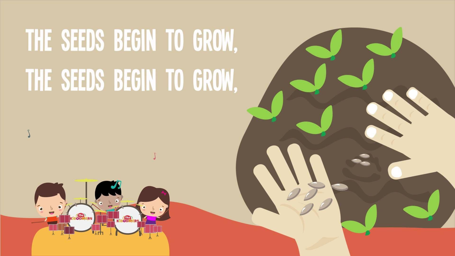 The Farmer Plants The Seeds Song Lyrics For Kids