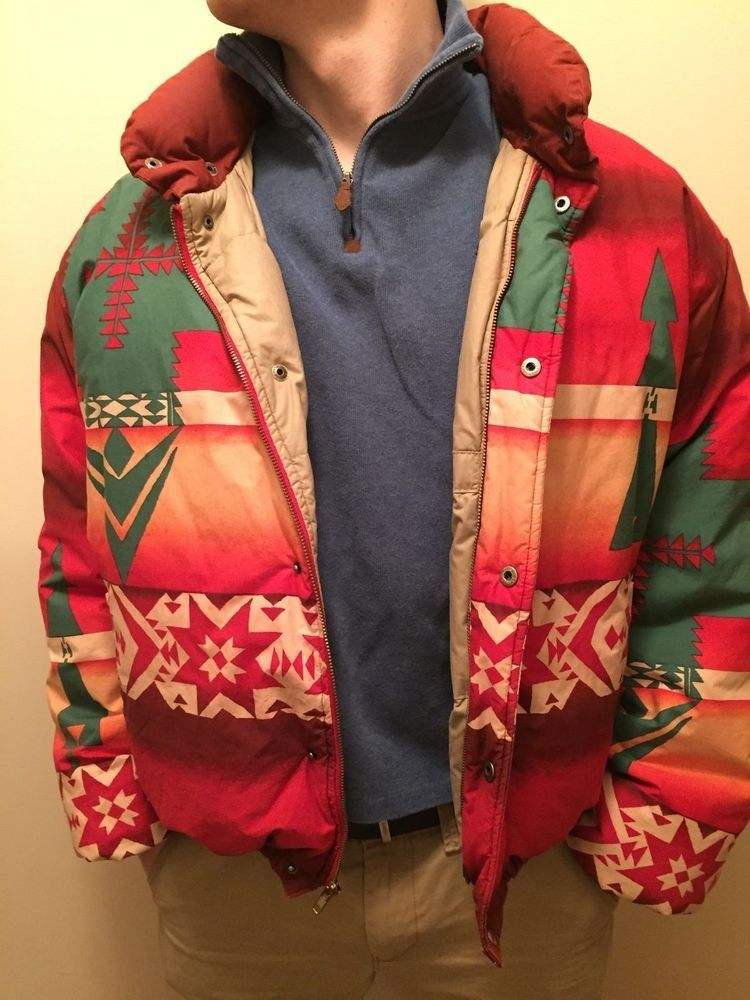 Vintage Polo Country Ralph Lauren Southwestern Jacket