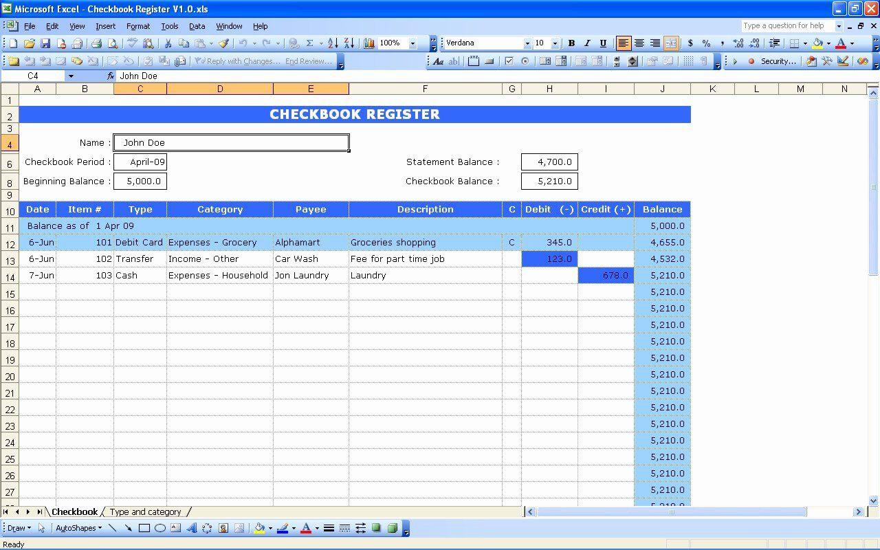 Checkbook Register Template For Mac Best Of Free Printable Check Registers Printable Check Register Checkbook Register Statement Template