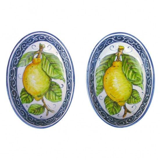 oval sauce bowl - ARTESIA Hand-Made Ceramics Workshop