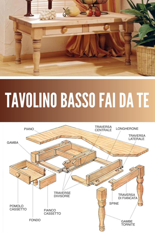 Tavolino Basso Fai Da Te Tavolini Bassi Tavolini Fai Da Te