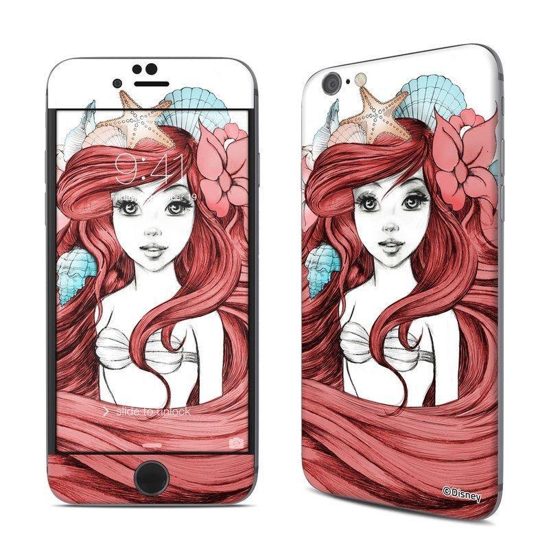 Disney iphone 6 6s skin under the sea little mermaid sticker decal