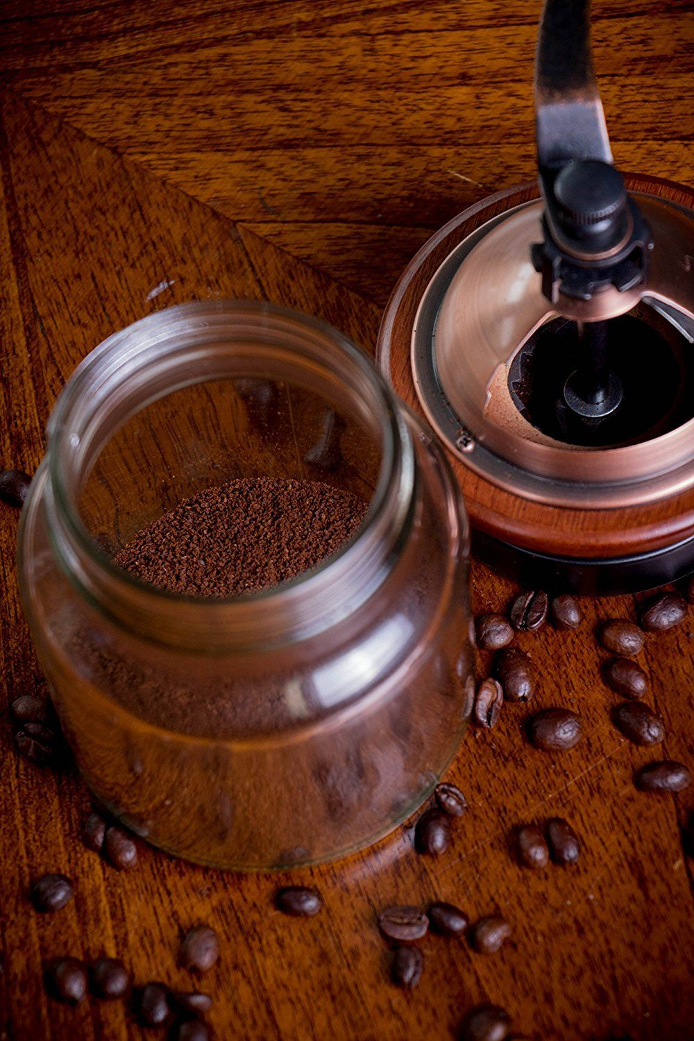Manual Cast Iron Coffee Bean Grinder with