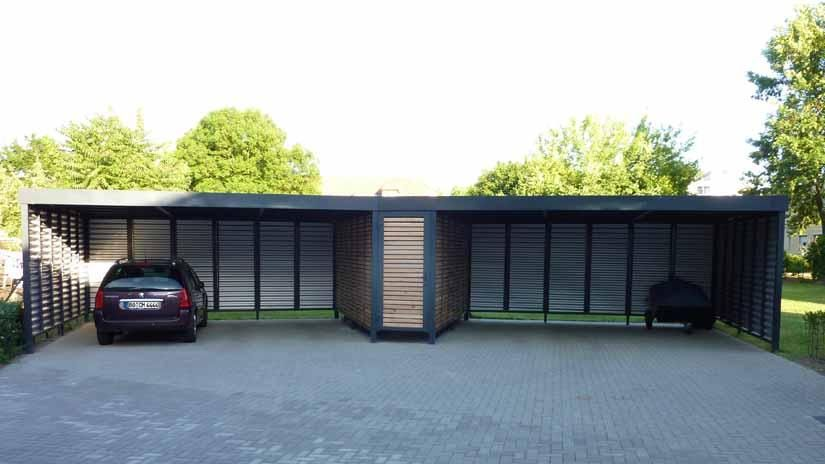 Moderne Carports in 2020 Carport, Stahlcarport und Stahl