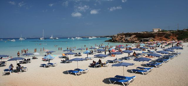 CALA SAONA . Beauty in the sun - FORMENTERA (Balearic Islands, Spain)