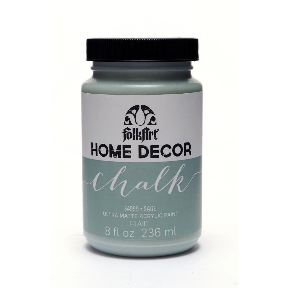 Folkart 8 oz sage chalk finish paint chalk folk art