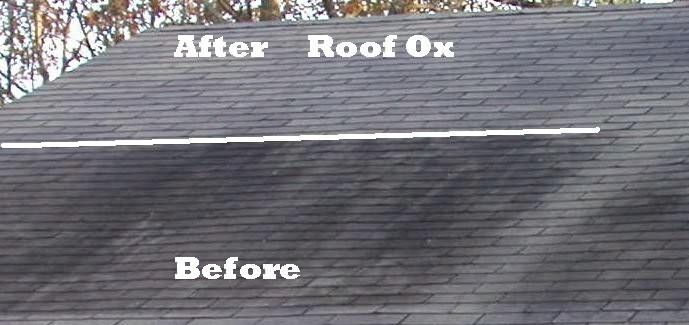 Roof Mold Shingle Cleaner Ox 3000 Cleans Roof Mold And Stains Roof Cleaning Best Roof Shingles Shingling