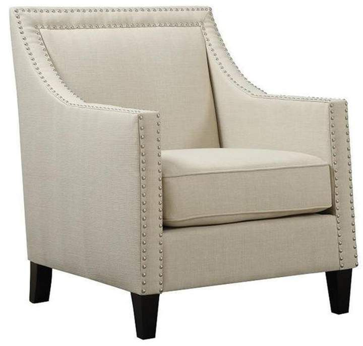 Elsinore Accent Chair Natural Clearance Beige Accent Chair