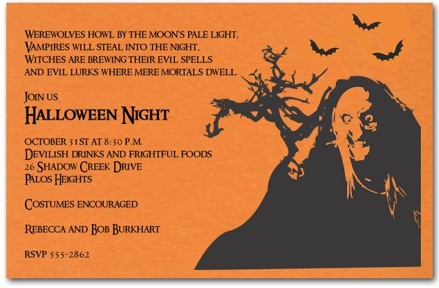 17 Best images about Halloween Invitations on Pinterest ...
