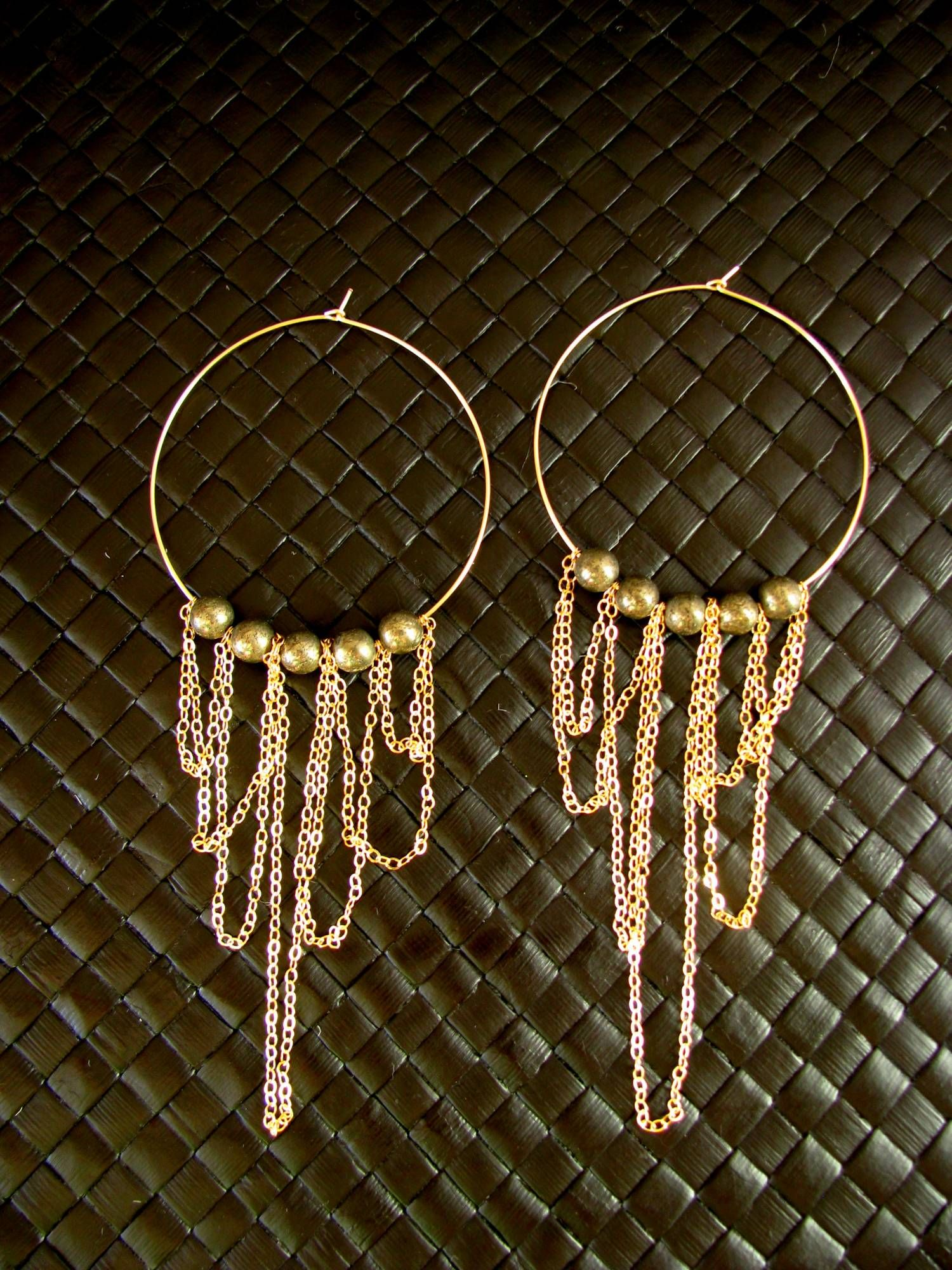 hoop earring diy - I\'m going to make these! (ab) | Jewelry ...