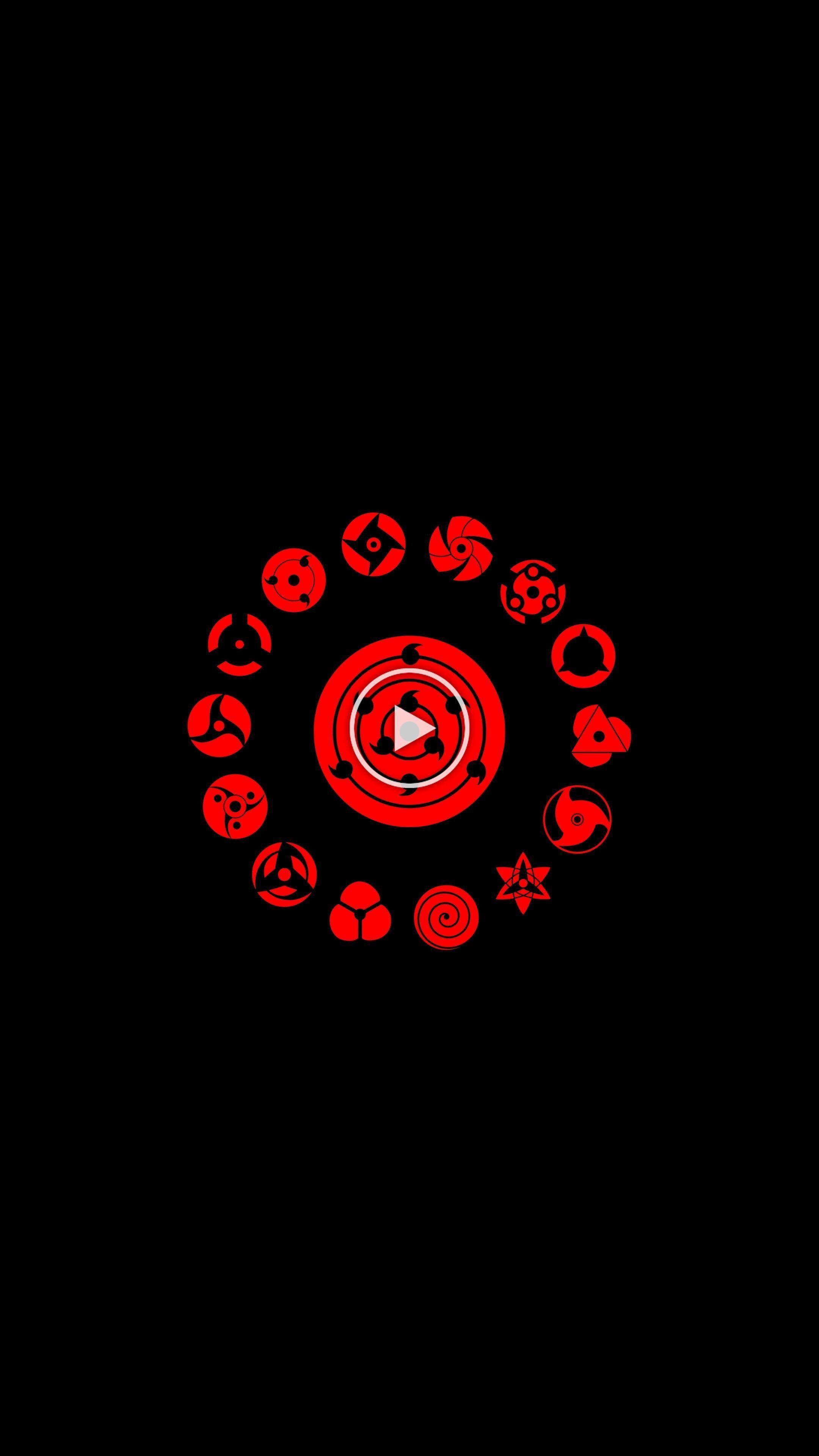 Download 2160x3840 wallpaper Logo, minimal, Naruto, 4К