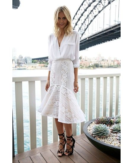 Jess Stein from Tuula at Sebel Pier One Sydney (My hotel!). Loving the outfit! I should post the pic I have with her here!