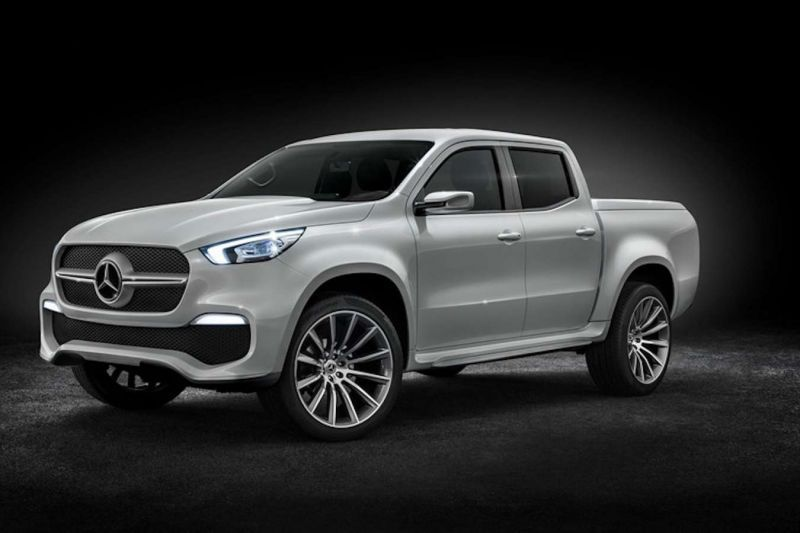 2020 Mercedes Benz Pickup Truck Exclusive Photos With Images