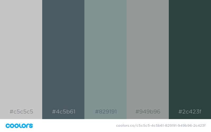 Trending colors for your walls: Soft Blue – a muted blue ...  Muted Blue Grey Paint Color